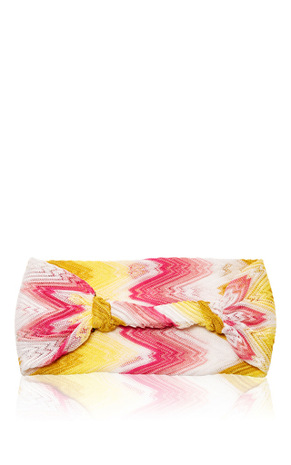 Ombré Knit Headband by MISSONI Now Available on Moda Operandi