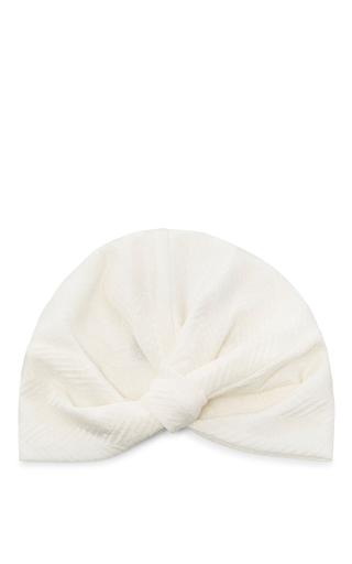 Medium missoni white white knit turban