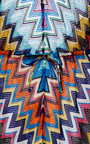 Zig Zag Lame Jumpsuit  by MISSONI Now Available on Moda Operandi