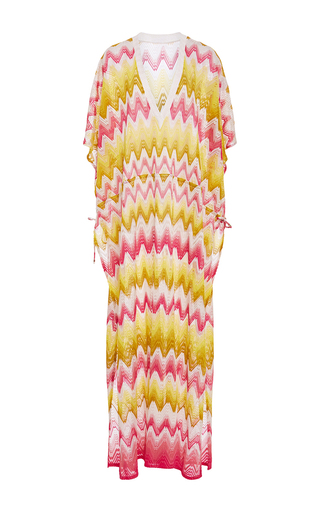 Medium missoni multi zig zag maxi caftan