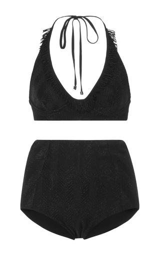 Medium missoni black zig zag bikini set