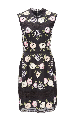Medium needle thread black rose noir prom dress