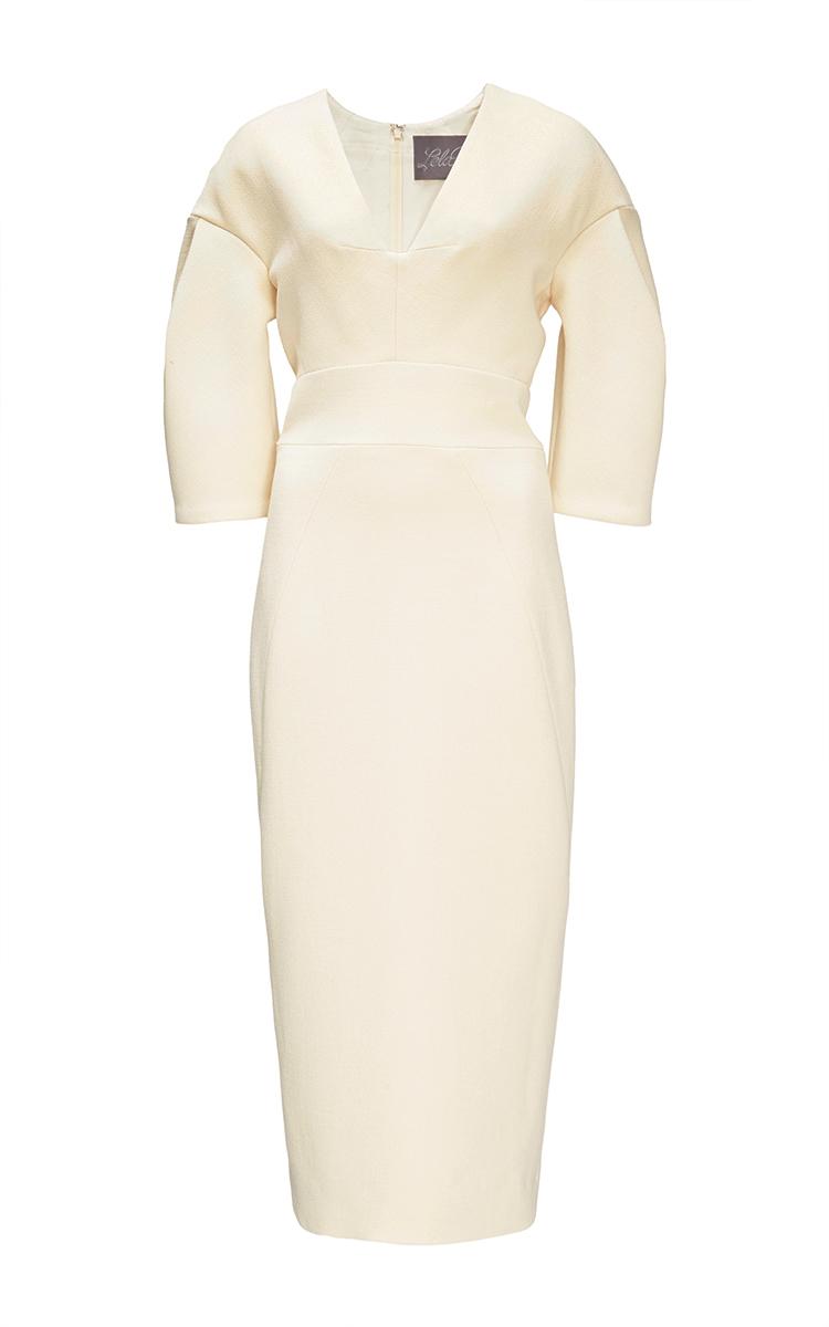 Sheath Ivory Dress