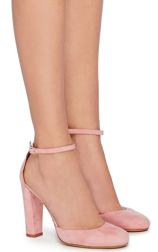 Suede Petra Pump by TABITHA SIMMONS Now Available on Moda Operandi