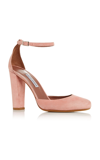 Medium tabitha simmons pink suede petra pump