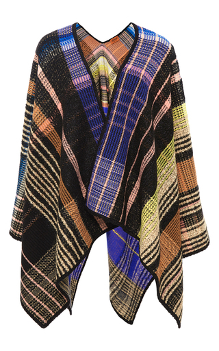 Medium missoni multi plaid shawl