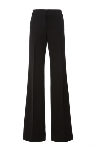 Medium marni black cotton crepe trouser
