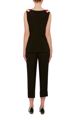 Double Face Cropped Trouser by MARNI Now Available on Moda Operandi