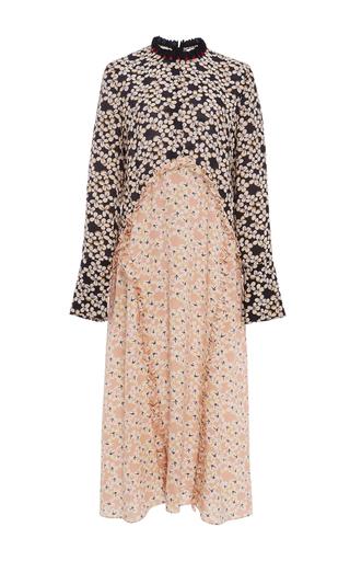 Medium marni floral strawflower floral silk dress