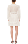 Realm Embroidered Mini Dress by ZIMMERMANN Now Available on Moda Operandi