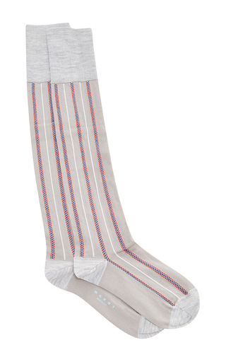 Medium marni light grey pigeon socks