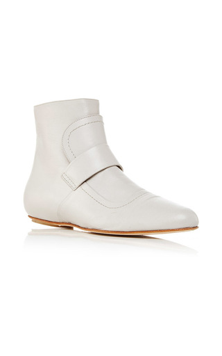 Medium marni light grey natural grey ankle boot