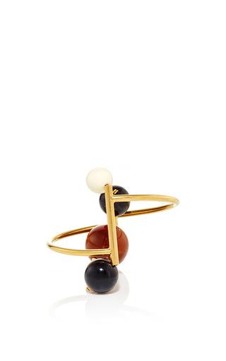Medium marni brown gold brown resin bracelet