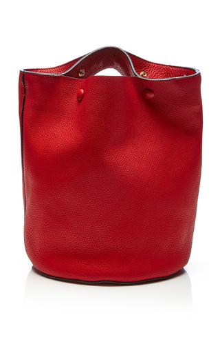 Medium marni red tulip shoulder bag