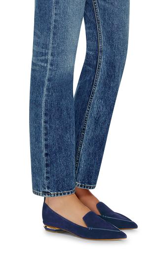 Beya Suede Loafers by NICHOLAS KIRKWOOD Now Available on Moda Operandi