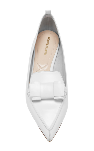 Beya Bow Loafers by NICHOLAS KIRKWOOD Now Available on Moda Operandi