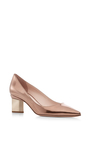 Prism Metallic Leather Pumps by NICHOLAS KIRKWOOD Now Available on Moda Operandi
