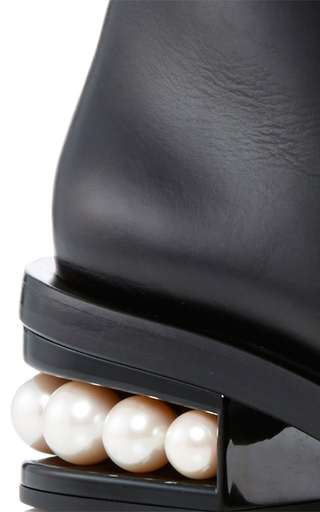 Casati Pearl Ankle Boots  by NICHOLAS KIRKWOOD Now Available on Moda Operandi