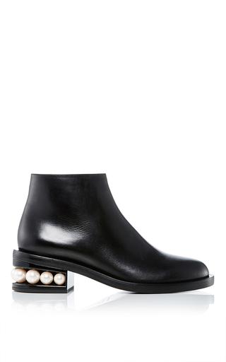 Medium nicholas kirkwood black casati pearl ankle boots