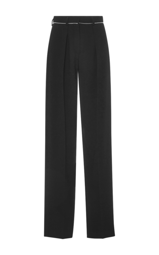 Medium sonia by sonia rykiel black fluid crepe trousers