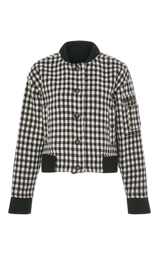 Medium sonia by sonia rykiel black check wool jacket