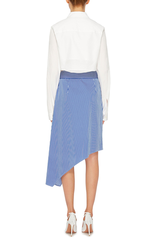 Striped Asymmetric Skirt by TOME Now Available on Moda Operandi