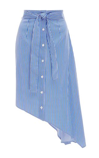 Medium tome stripe striped asymmetric skirt