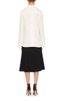 Crepe Neck Tie Blouse by PROENZA SCHOULER Now Available on Moda Operandi