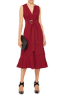 Crepe Knot Front Dress by PROENZA SCHOULER Now Available on Moda Operandi