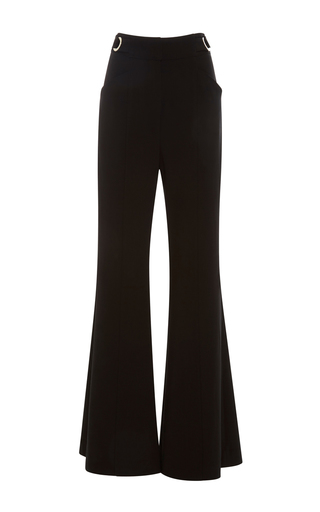 Medium proenza schouler black high waisted flared pants