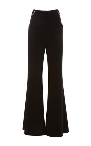 Medium proenza schouler black high waisted flared pants