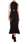 Crepe Cut Out Dress  by PROENZA SCHOULER Now Available on Moda Operandi