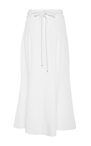 Flared Crepe Skirt  by PROENZA SCHOULER Now Available on Moda Operandi