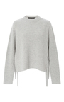 Cashmere Wool Side Tie Sweater by PROENZA SCHOULER Now Available on Moda Operandi