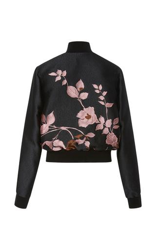 Flower Jacquard Bomber Jacket by ELIE SAAB Now Available on Moda Operandi