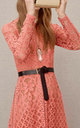 Guipure Lace Dress by ELIE SAAB Now Available on Moda Operandi