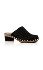 Suede Mule Clogs by PROENZA SCHOULER Now Available on Moda Operandi