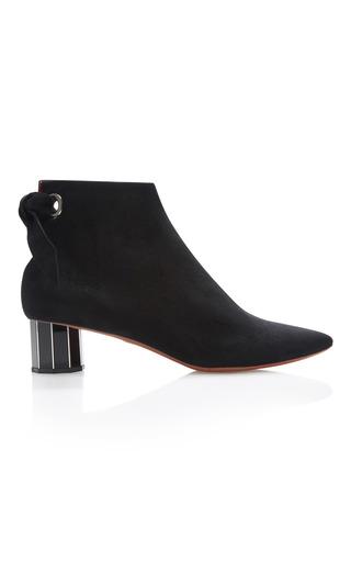 Medium proenza schouler black suede ankle boots