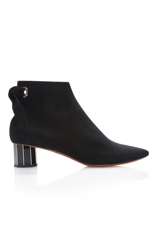 Medium proenza schouler black suede ankle boots