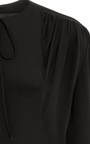 Silk Crepe Romper by DEREK LAM Now Available on Moda Operandi