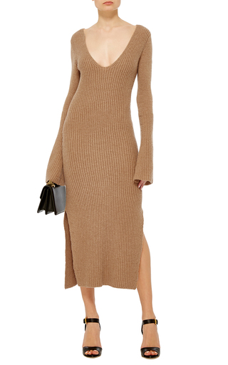 Cashmere Maxi Dress by DEREK LAM Now Available on Moda Operandi