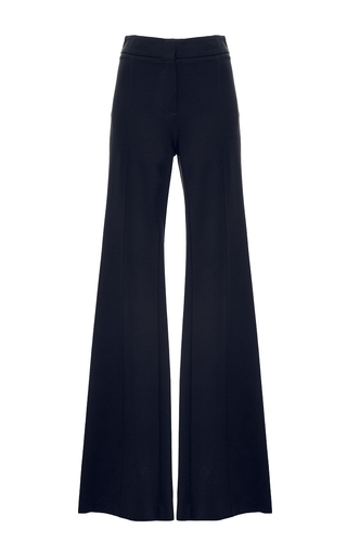 Medium derek lam navy georgina flared pants