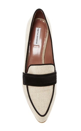 Margot Heeled Loafers by TABITHA SIMMONS Now Available on Moda Operandi