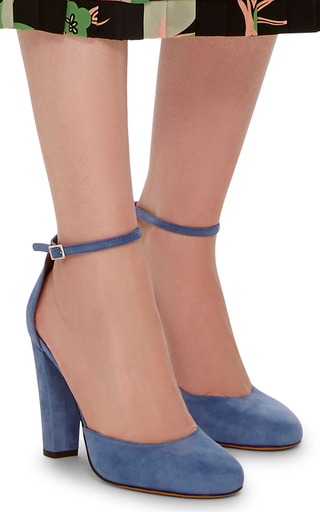 Petra Suede Pumps by TABITHA SIMMONS Now Available on Moda Operandi