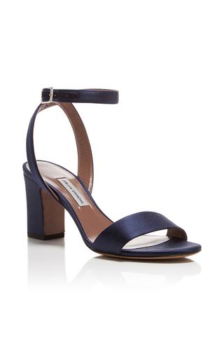 Medium tabitha simmons navy leticia satin heels