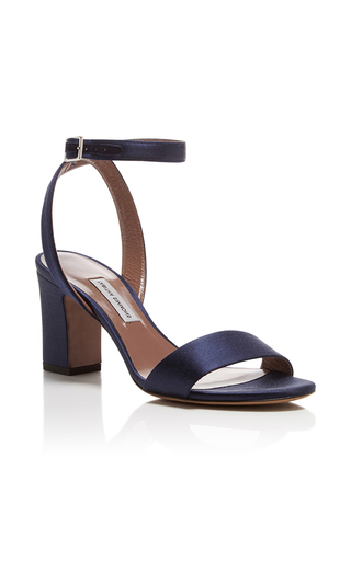 Medium tabitha simmons navy leticia satin heels