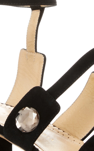 Lynda Suede Heels by CHARLOTTE OLYMPIA Now Available on Moda Operandi