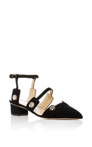 Medium charlotte olympia black lynda suede heels