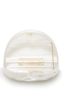 Irona Pearl Perspex Bag by CHARLOTTE OLYMPIA Now Available on Moda Operandi