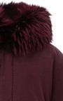 Coyote Lined Mini Parka by MR & MRS ITALY Now Available on Moda Operandi